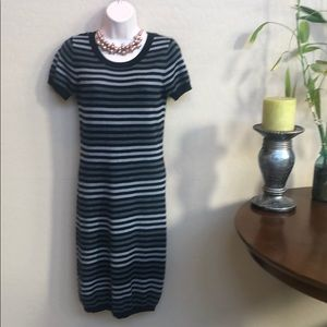The Limited Striped Sweater Dress Size S